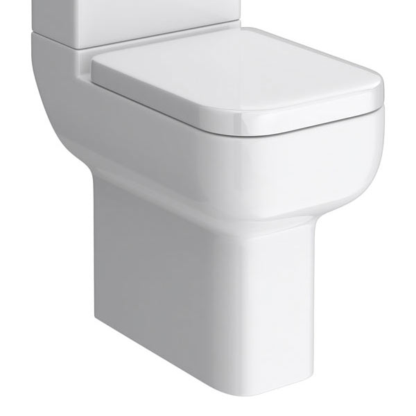 Pro 600 Comfort Height Close Coupled Pan (excluding Seat)