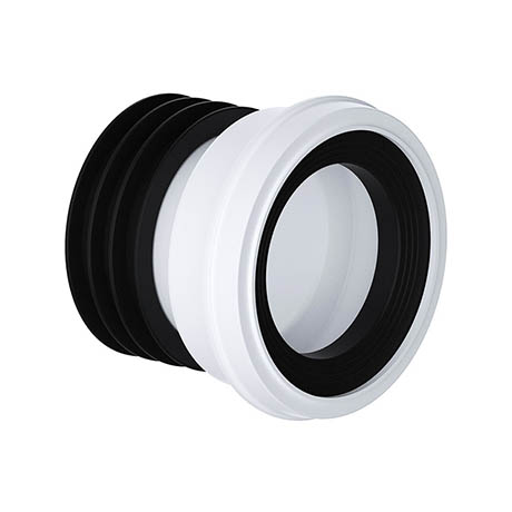 Viva Straight Easi-Fit WC Pan Connector