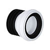 Viva Straight Easi-Fit WC Pan Connector profile small image view 1