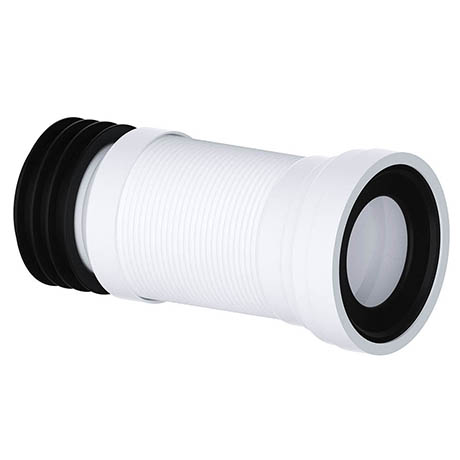Viva Long Slinky-Fit Flexible WC Pan Connector (300 - 700mm)