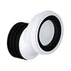Viva 40mm Offset Easi-Fit WC Pan Connector profile small image view 1