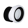 Viva 20mm Offset Easi-Fit WC Pan Connector profile small image view 1