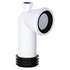 Viva 90° Bend Easi-Fit WC Pan Connector with 32mm Adapter profile small image view 1