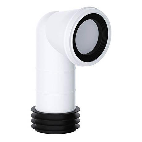 Viva 90° Bend Easi-Fit WC Pan Connector
