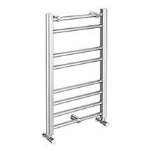 Alberta Modern 800 x 500mm Ladder Heated Towel Rail Medium Image