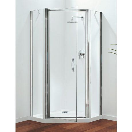 Coram - Premier 900mm Pentagon Shower Enclosure