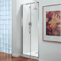 Coram - Premier Pivot Shower Door - Various Size Options Medium Image