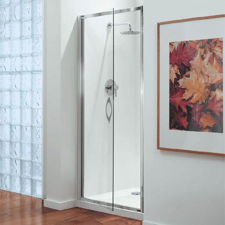 Coram - Premier Pivot Shower Door - Various Size Options