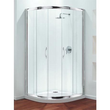 Coram - Premier Quadrant Shower Enclosure - Various Size Options
