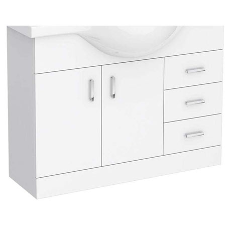 Cove 1050mm Vanity Cabinet (excluding Basin)