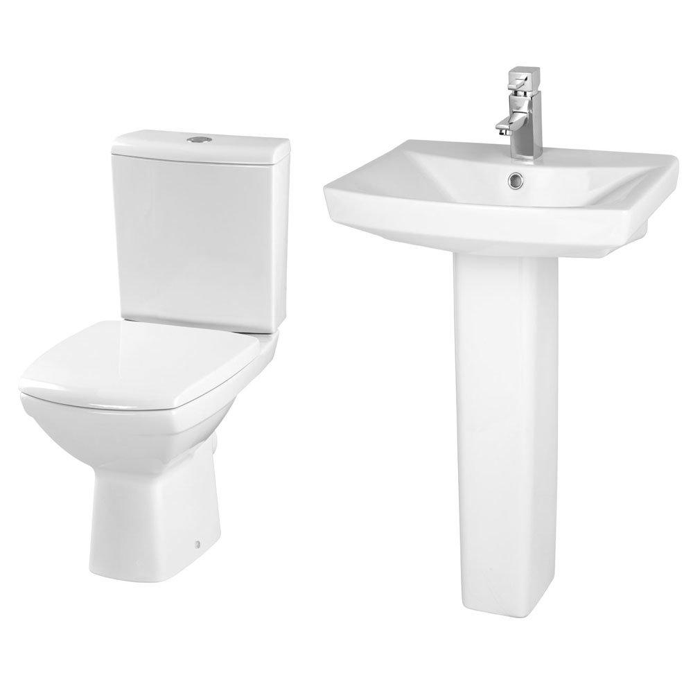 Premier Hamilton 4 Piece Bathroom Suite - Various Sizes profile large image view 5