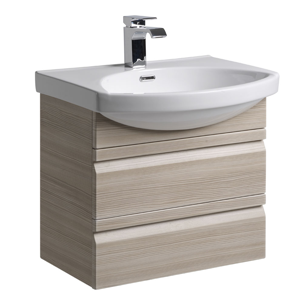 Roper Rhodes Profile 600mm Wall Mounted Unit - Pale Driftwood Large Image