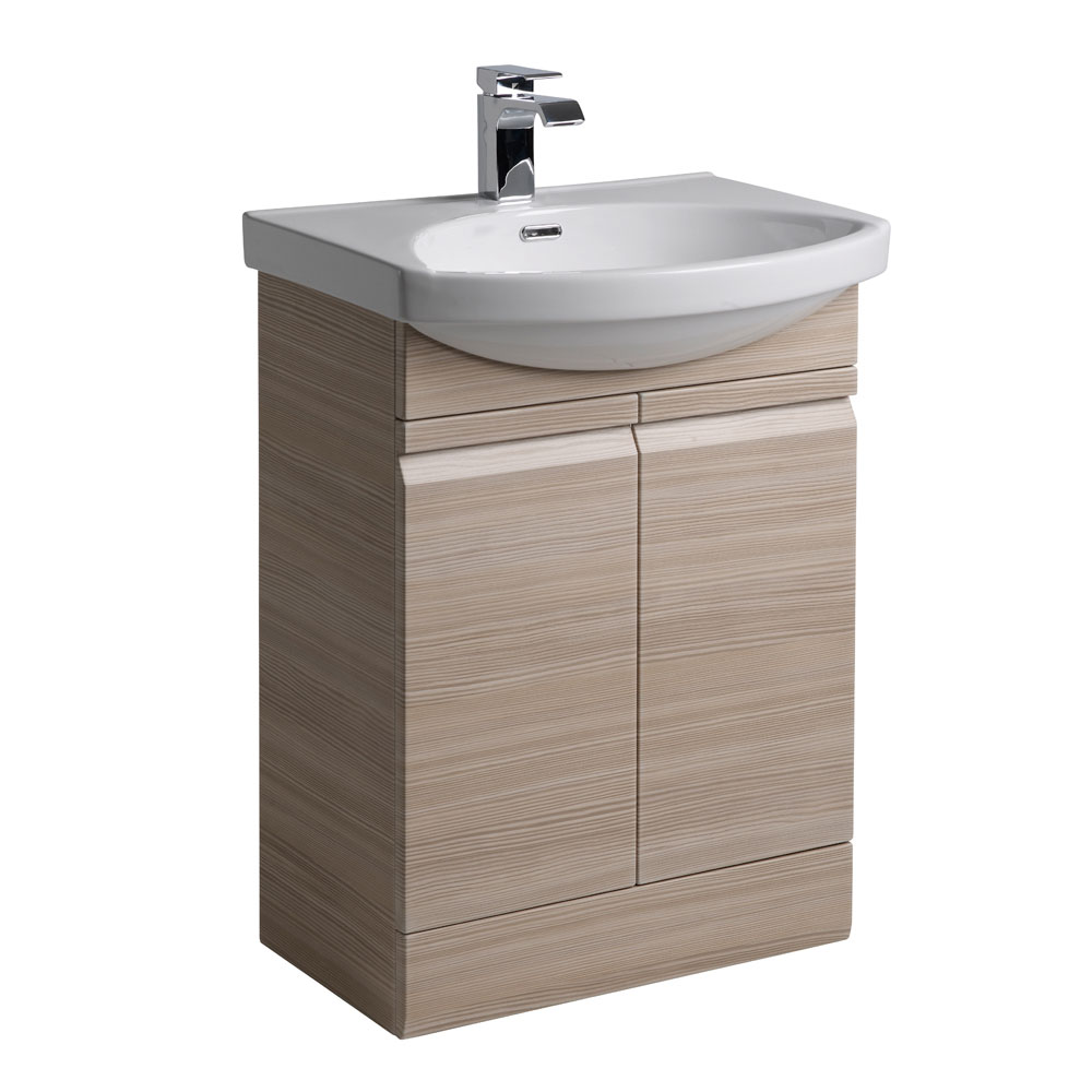 Roper Rhodes Profile 600mm Freestanding Unit - Pale Driftwood profile large image view 1