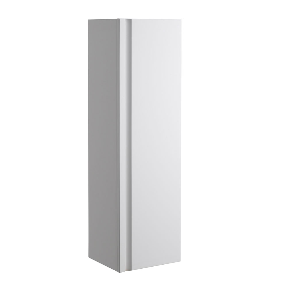 Roper Rhodes Profile 350mm Tall Storage Cupboard - Gloss White Large Image