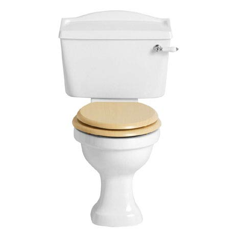 Heritage - Rhyland Close Coupled WC & Landscape Cistern - Various Lever Options