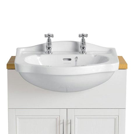 Heritage - Rhyland 2TH Semi-Recessed Basin