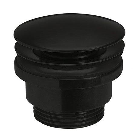 Crosswater MPRO Universal Basin Click Clack Waste - Carbon Black - PRI0260M