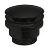 Crosswater MPRO Universal Basin Click Clack Waste - Carbon Black - PRI0260M profile small image view 1