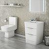 Prism Vanity Unit + Toilet Suite profile small image view 1