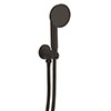 Crosswater MPRO Industrial Wall Outlet, Single Mode Handset & Hose - Carbon Black - PRI963M profile small image view 1