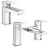Venice Modern Geometric Tap Package (Bath + Basin Tap) profile small image view 1