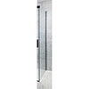 Crosswater Design+ Matt Black Side Panel for Sliding Door profile small image view 1