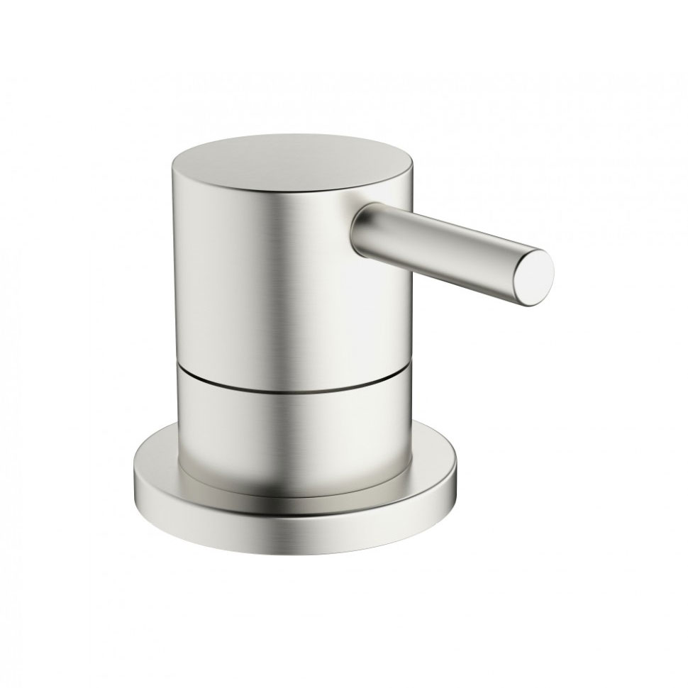 Crosswater - Mike Pro Deck Mounted 3 Way Diverter Valve - Brushed Stainless Steel - PRO0008DV profile large image view 1