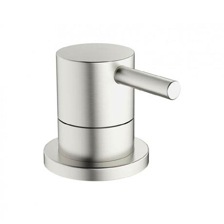 Crosswater - Mike Pro Deck Mounted 3 Way Diverter Valve - Brushed Stainless Steel - PRO0008DV