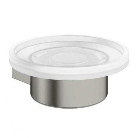 Crosswater - Mike Pro Soap Holder - Brushed Stainless Steel - PRO005V