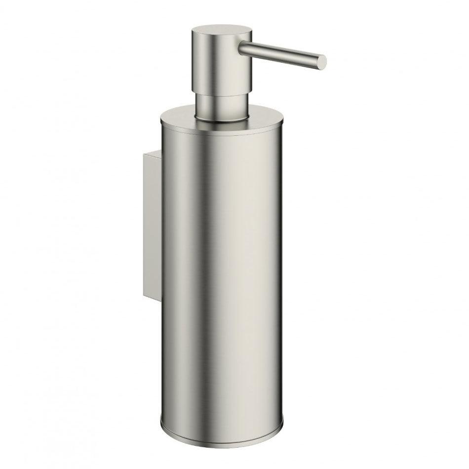 Crosswater - Mike Pro Soap Dispenser - Brushed Stainless Steel - PRO011V Large Image