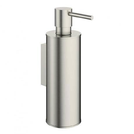 Crosswater - Mike Pro Soap Dispenser - Brushed Stainless Steel - PRO011V