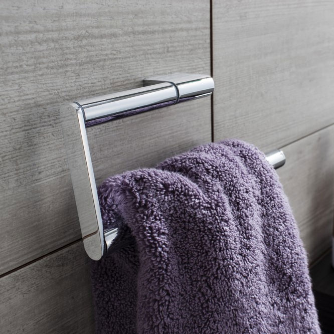Crosswater - Mike Pro Towel Ring - Chrome - PRO013C Profile Large Image