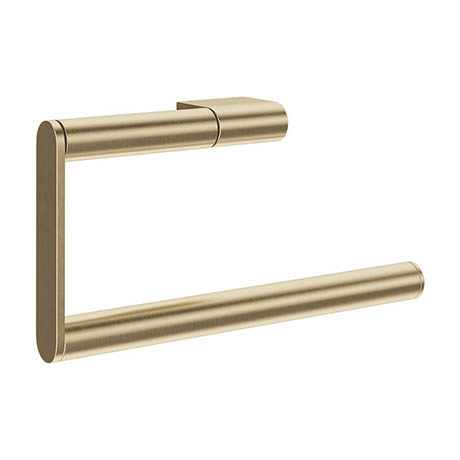 Crosswater MPRO Towel Ring - Brushed Brass - PRO013F