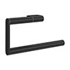 Crosswater MPRO Towel Ring - Matt Black - PRO013M profile small image view 1