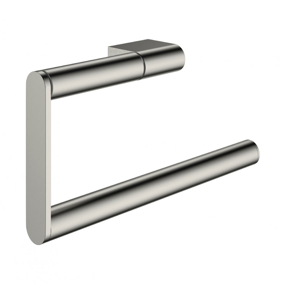 Crosswater - Mike Pro Towel Ring - Brushed Stainless Steel - PRO013V Large Image