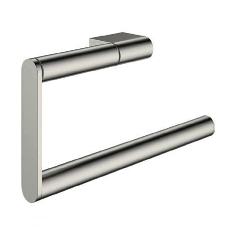 Crosswater - Mike Pro Towel Ring - Brushed Stainless Steel - PRO013V