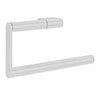 Crosswater MPRO Towel Ring - Matt White - PRO013W+ profile small image view 1