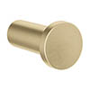 Crosswater MPRO Robe Hook - Brushed Brass - PRO021F profile small image view 1