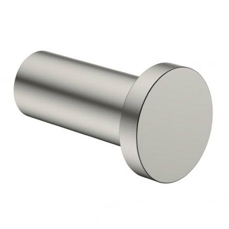 Crosswater - Mike Pro Robe Hook - Brushed Stainless Steel - PRO021V profile large image view 1