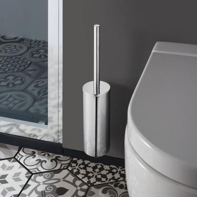 Crosswater - Mike Pro Toilet Brush Holder - Chrome - PRO025C profile large image view 2