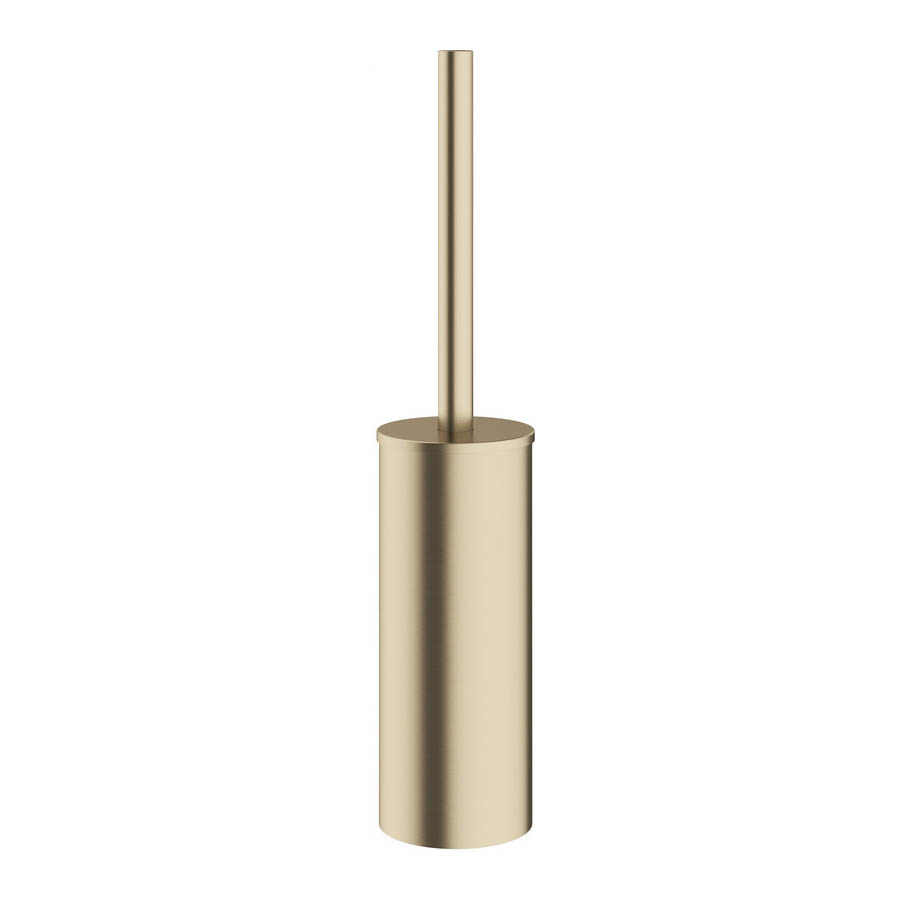 Crosswater MPRO Toilet Brush Holder - Brushed Brass - PRO025F
