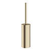 Crosswater MPRO Toilet Brush Holder - Brushed Brass - PRO025F Medium Image