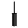 Crosswater MPRO Toilet Brush Holder - Matt Black - PRO025M profile small image view 1
