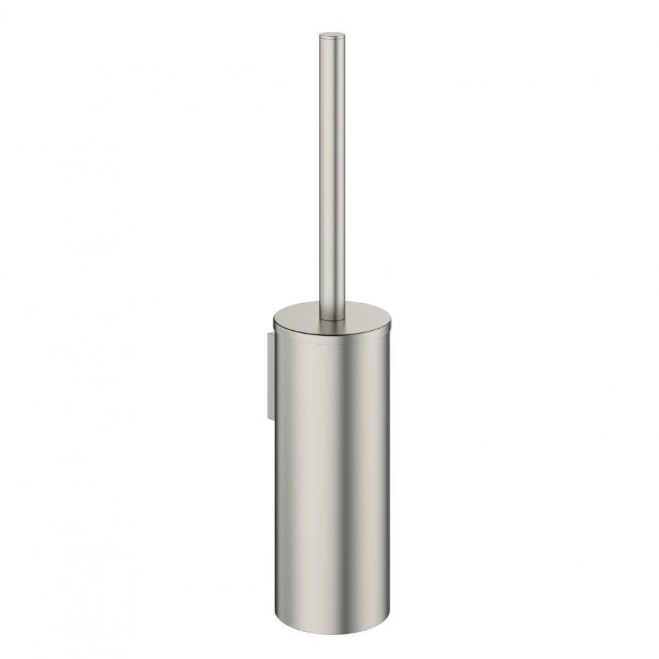 Crosswater - Mike Pro Toilet Brush Holder - Brushed Stainless Steel - PRO025V Large Image