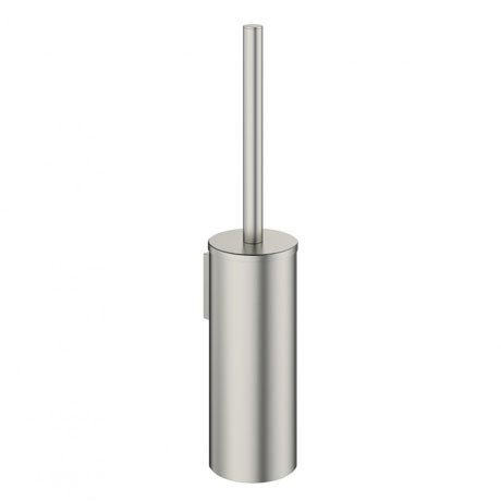 Crosswater - Mike Pro Toilet Brush Holder - Brushed Stainless Steel - PRO025V