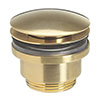 Crosswater MPRO Universal Basin Click Clack Waste - Brushed Brass - PRO0260F+ profile small image view 1