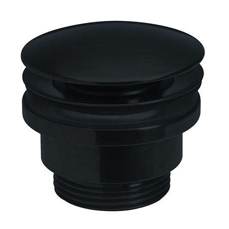 Crosswater MPRO Universal Basin Click Clack Waste - Matt Black - PRO0260M