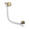 Crosswater MPRO Bath Filler with Click Clack Waste - Brushed Brass - PRO0355F profile small image view 1
