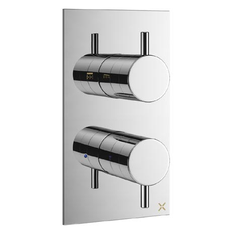 Crosswater - Mike Pro Thermostatic Shower Valve - Chrome - PRO1000RC