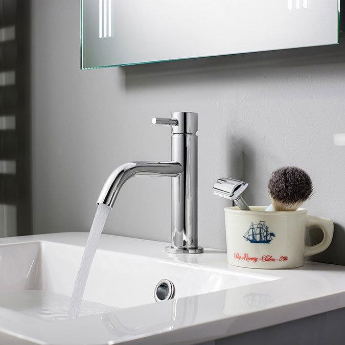Crosswater - Mike Pro Monobloc Basin Mixer - Chrome - PRO110DNC Profile Large Image